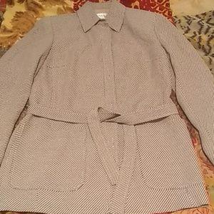 Women's Emanuel Ungaro Belted Blazer/Jacket